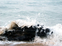 Spritzen des Wassers Stockfoto