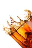 Spritzen in einem Glas Stockfotos