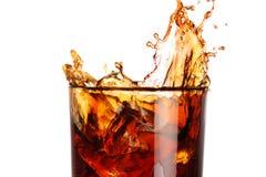 Spritzen in einem Glas Lizenzfreies Stockfoto