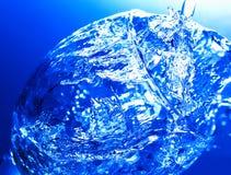 Spritzen im Glas Lizenzfreie Stockfotografie