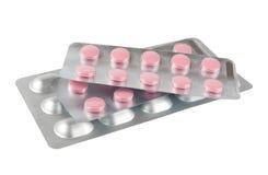 Spritzen und Tabletten Lizenzfreies Stockbild
