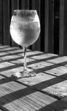 Spritzer del vino blanco Fotos de archivo libres de regalías
