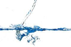 Spritzt und Wasserwellen Lizenzfreie Stockfotografie