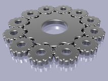 Sprocket - 3D. Illustration about technology - Sprocket - Gears - Background - 3D Royalty Free Stock Photos