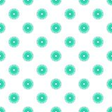 Sprocket for bicycle pattern, cartoon style Royalty Free Stock Images