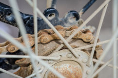 Sprocket and chain Stock Images