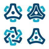 Sprocket cogwheel gear symbol. Illustration for the web Stock Photo