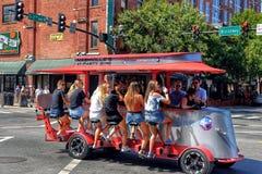 Sprocket Rocket party bike tavern on Broadway St