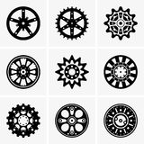 Sprocket wheel. Available in high-resolution and several sizes to fit the needs of your project Royalty Free Stock Photo