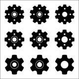 Sprocket wheel vector icon Stock Photo