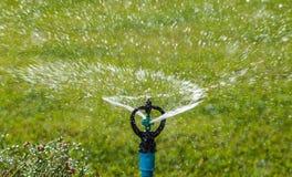 Sproeier het water geven royalty-vrije stock afbeelding