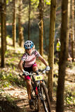 Sprogs class girl rider at Momentum Health Int Royalty Free Stock Photo