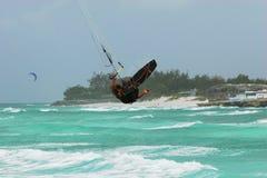 Sprong 2 van de vlieger Royalty-vrije Stock Afbeelding