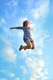 Sprong aan de hemel Royalty-vrije Stock Afbeeldingen