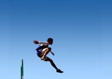 Sprong aan succes! Stock Afbeelding