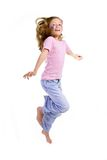 Sprong, ondergeschikte vreugde, Royalty-vrije Stock Fotografie