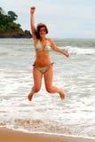 Sprong voor Vreugde Stock Afbeelding