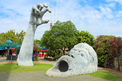 Sprookjesland Het Park van de droomwereld, Bangkok Royalty-vrije Stock Afbeelding