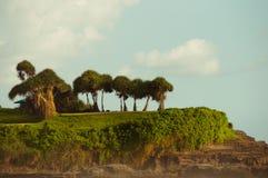 Sprookjesland in Tanah Partij Bali Royalty-vrije Stock Foto