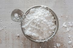 sproszkowany cukier obrazy stock