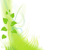 Sprout and grass stock illustration