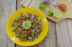 Sprout salad Stock Photos