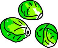 Sprouts ilustração do vetor