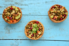 Sprouts chaat Stock Photo