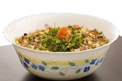Sprouts de feijão de Mung em uma bacia Imagem de Stock Royalty Free