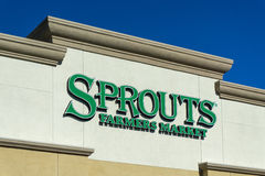 Sprouts Farmers Market Exterior Stock Photography