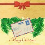 Spruce, branch, background, Christmas Stock Photo