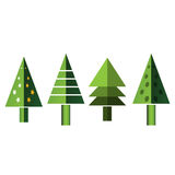 Spruce, christmas tree icon. logo template set. EPS file available. see more images related Stock Photography