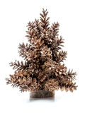 Spruce cone Christmas tree Stock Image