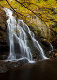 Spruce Flats falls, autumn Stock Images