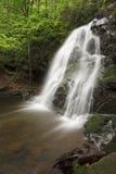 Spruce Flats Waterfall Stock Photo