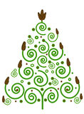 Spruce green Christmas Royalty Free Stock Photography
