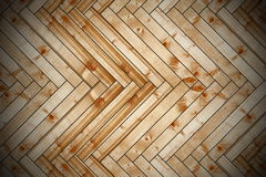 Spruce parquet with vignette Royalty Free Stock Images