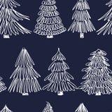 Spruce seamless pattern Stock Photo