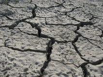 sprucken bakgrund torkar jord Royaltyfri Foto