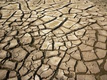 sprucken bakgrund torkar jord Arkivfoto