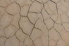 sprucken bakgrund torkar jord sprucken mudmodell Jord i spricka Arkivfoto
