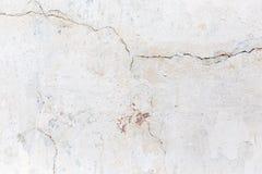 Sprucken betongvägg som bakgrund textur Arkivfoton
