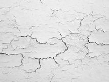 Sprucken betongväggbakgrund Arkivfoto