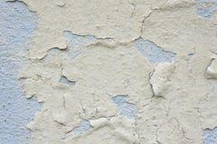 Sprucken gammal textur för väggdetaljbakgrund för text eller bild Abstrakt bakgrund, gammal sprucken murbrukvägg Arkivfoto