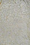 Sprucken grå vägg Royaltyfri Fotografi