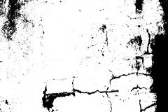 Sprucken grustextur Svart grus på genomskinlig bakgrund stock illustrationer