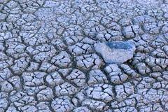 sprucken jord Arkivfoton