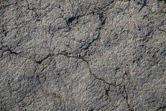 Sprucken jordbakgrund eller textur Arkivbild