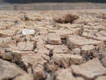 sprucken jordning Arkivbild