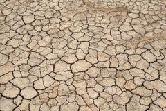 Sprucken jordning, Crecked textur Royaltyfri Bild